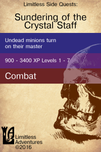 Cover of Sundering the Crystal Staff