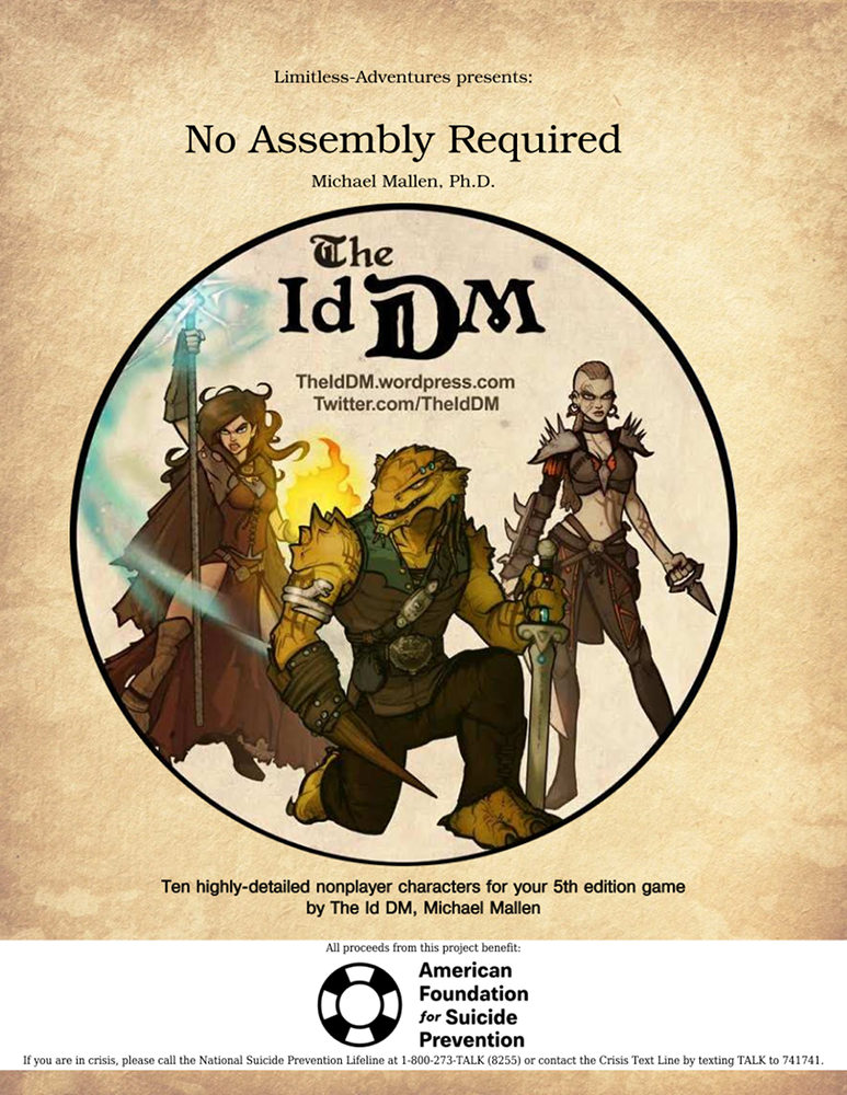 No assembly required: ten detailed 5e monsters with developer.